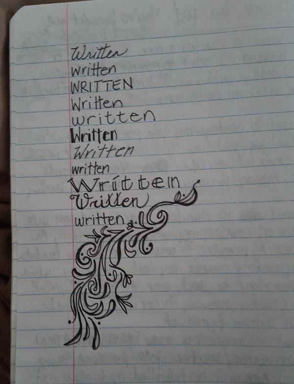 Written